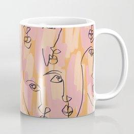 Twin Flames Mustard Coffee Mug