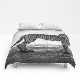 B&W Leopard Cub 5 Comforters