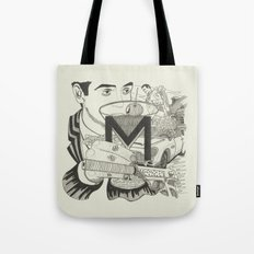 M is for Martini Tote Bag