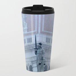 Justice on St Mark's Square Travel Mug
