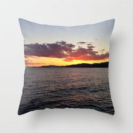 Ocean Calm III Throw Pillow