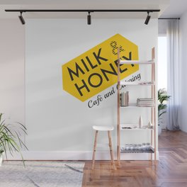 Milk & Honey Cafe & Catering Wall Mural