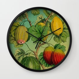 Gooseberry Branch Wall Clock