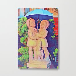Good Old Romance  Metal Print