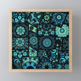 Perfect in Patches Framed Mini Art Print