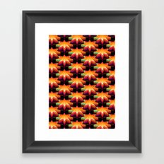 Star Disco Floor Framed Art Print
