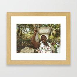 Palenquera Framed Art Print