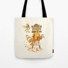 Rebecca the Radish Raccoon Tote Bag