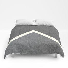 Grey Geometric CTN Comforters