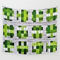 grass Wall Tapestries featuring Grass by Yukska