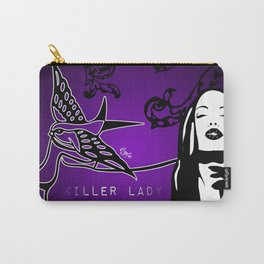 KILLER LADY PURPLE Carry-All Pouch