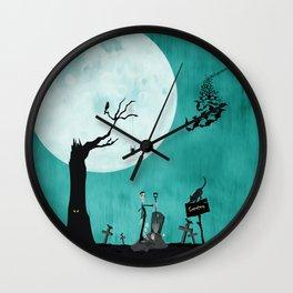 Cemetery Wall Clock