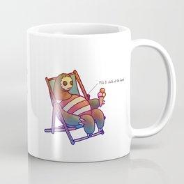 SLOTH LIFE fig. 6. Coffee Mug