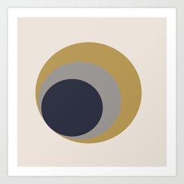 Nested Circles Art Print