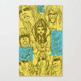 Mal y de Malas Canvas Print