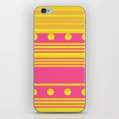 Pink and Gold iPhone & iPod Skin