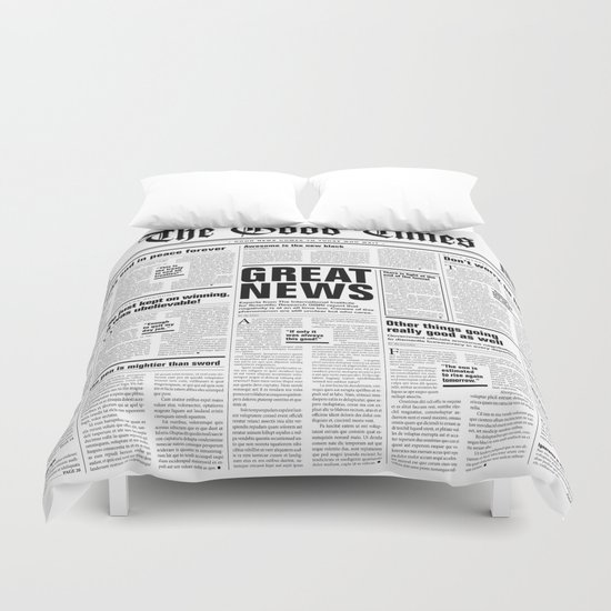 The Good Times Vol. 1, No. 1 / Newspaper with only good news by grandeduc