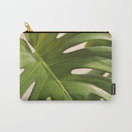 Verdure #1 Modern Art Print Carry-All Pouch