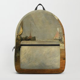"""J.M.W. Turner """"The Fish Market at Hastings Beach"""" Backpack"""