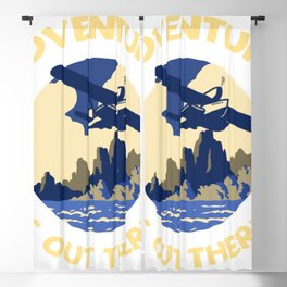 Adventure is Out There! Blackout Curtain