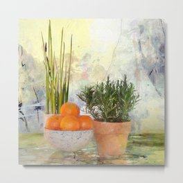 Still life with fruits Metal Print