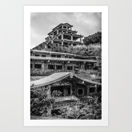Inner view of the Royal Hotel Art Print