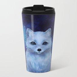 Arctic Fox Metal Travel Mug