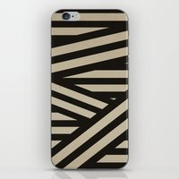 decal iPhone & iPod Skins featuring Bandage by Charlene McCoy
