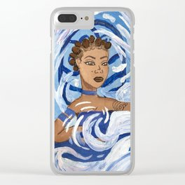 Water Girl I Avatar Series Clear iPhone Case