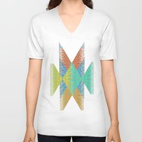 diamonds V-neck T-shirts featuring Diamonds by elikourY