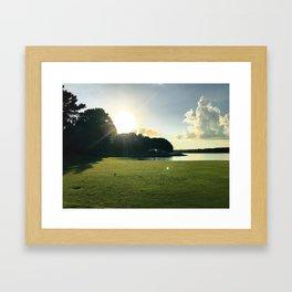Tee Views Framed Art Print