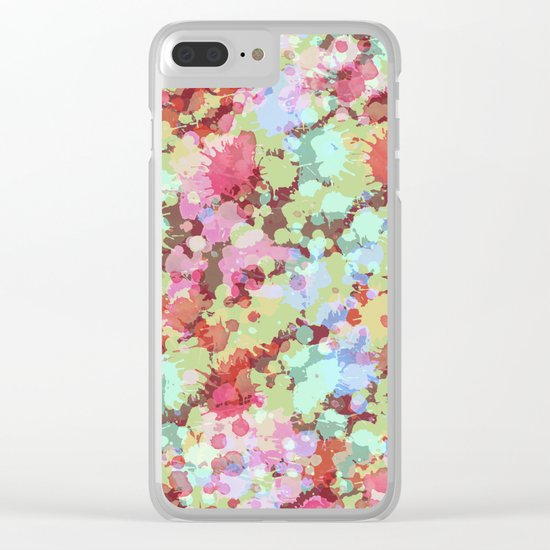 Abstract XXVI Clear iPhone Case
