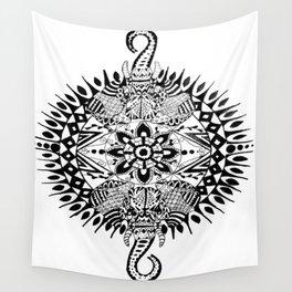 Elephant Mandala Wall Tapestry