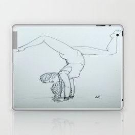 Yoga Girl 1.0  Laptop & iPad Skin