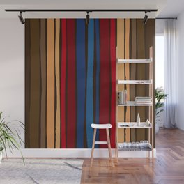 Rocketman Dancing Stripes Pattern      Edit Wall Mural