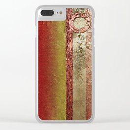 Dont Let The Sun Go Down On Me Clear iPhone Case