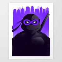 Donatello Forever Art Print