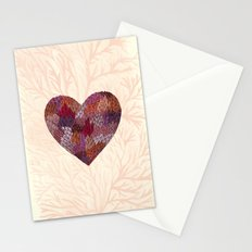 Pink Heart Stationery Cards