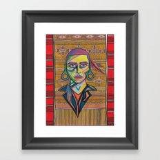 Chief lightsitup Framed Art Print