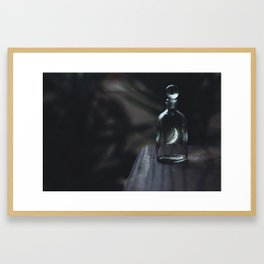 The Moon Is Mine by Omerika Framed Art Print