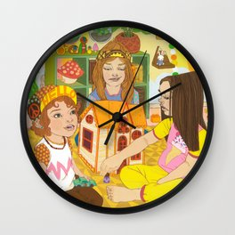 Kids Toy Room Wall Clock