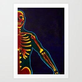 Like Fire in my Bones Art Print
