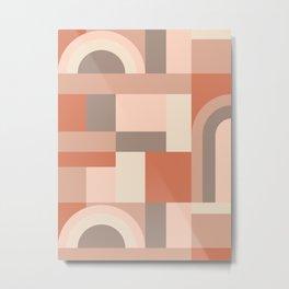 Softy Blocks #society6 #pattern Metal Print