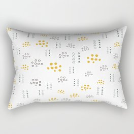 Pattern design with dots Rectangular Pillow