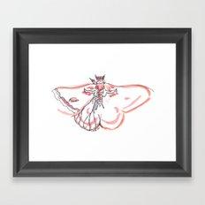 Mothling Framed Art Print