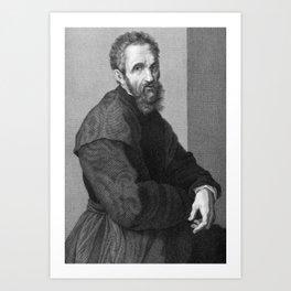 Michelangelo Art Print
