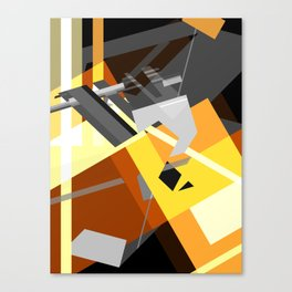 Compression Canvas Print