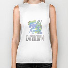 Capricorn - earth sign Biker Tank
