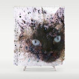 I Am Siamese Shower Curtain