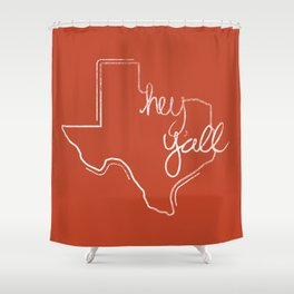 hey y'all – inverse Shower Curtain